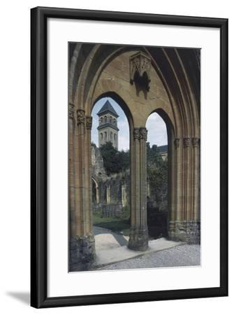View of the Abbey of Notre-Dame D'Orval--Framed Giclee Print