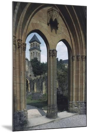 View of the Abbey of Notre-Dame D'Orval--Mounted Giclee Print