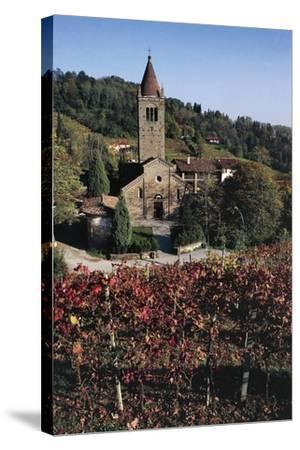 Church of St Egidio Abbey--Stretched Canvas Print