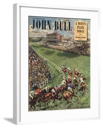 Front Cover of 'John Bull', June 1949--Framed Giclee Print