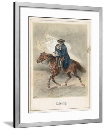 The Erl King-Theodor Hosemann-Framed Giclee Print