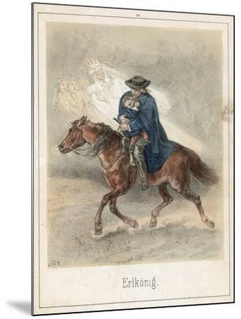 The Erl King-Theodor Hosemann-Mounted Giclee Print