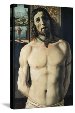 Christ at Column, Attributed to Donato Bramante--Stretched Canvas Print