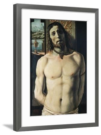 Christ at Column, Attributed to Donato Bramante--Framed Giclee Print