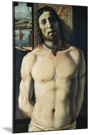 Christ at Column, Attributed to Donato Bramante--Mounted Giclee Print