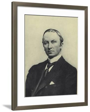 Lord Curzon, Viceroy of India--Framed Photographic Print