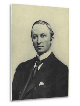 Lord Curzon, Viceroy of India--Metal Print