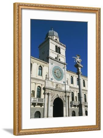 Clock Tower--Framed Giclee Print