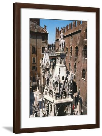 View of Scala Family Tombs--Framed Giclee Print