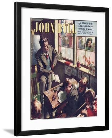 Front Cover of 'John Bull', September 1948--Framed Giclee Print