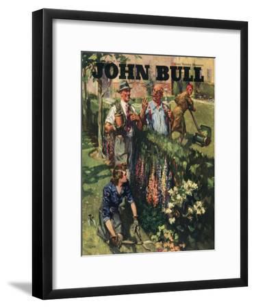Front Cover of 'John Bull', June 1946--Framed Giclee Print