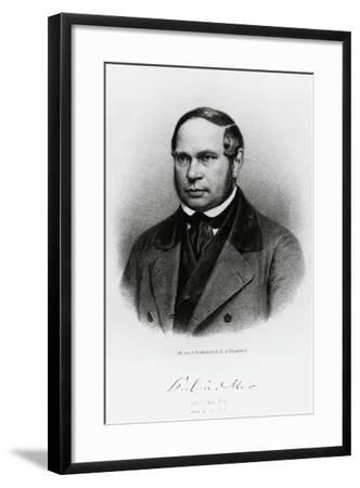 Karl Baedeker--Framed Giclee Print