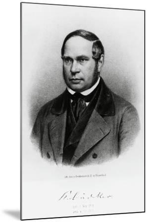 Karl Baedeker--Mounted Giclee Print