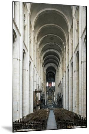 Nave, Church of St Sernin--Mounted Giclee Print