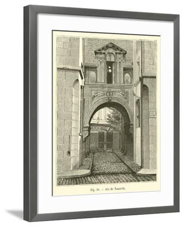 Arc De Nazareth--Framed Giclee Print