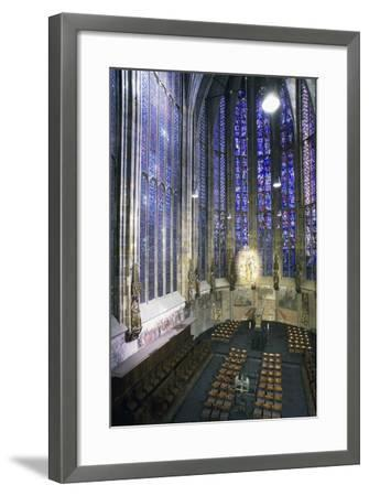 Interior of Aachen Cathedral--Framed Photographic Print