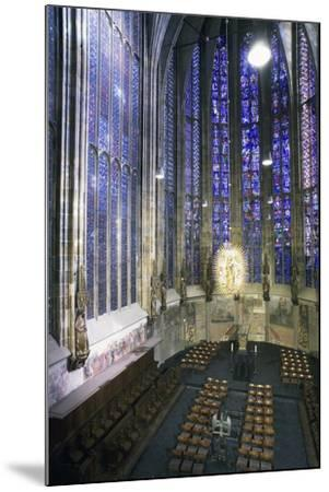 Interior of Aachen Cathedral--Mounted Photographic Print