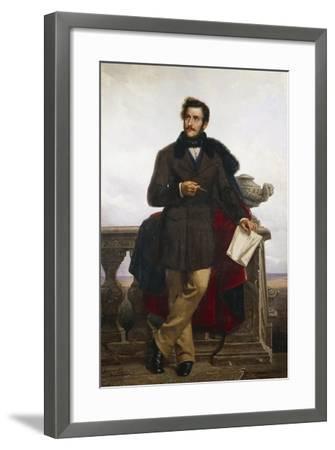Portrait of Gaetano Doninzetti--Framed Giclee Print