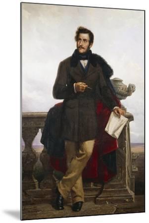 Portrait of Gaetano Doninzetti--Mounted Giclee Print