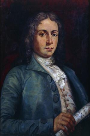 Portrait of Alessandro Scarlatti--Framed Giclee Print
