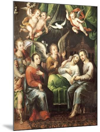 Death of St Joseph-Juan Correa-Mounted Giclee Print