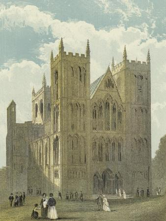 Ripon Cathedral, North West View--Framed Giclee Print