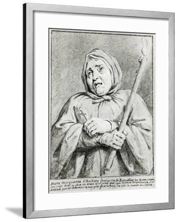 Portrait of Marie-Madeleine D'Aubray--Framed Giclee Print