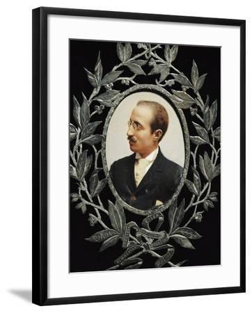 Portrait of Francesco Cilea--Framed Giclee Print