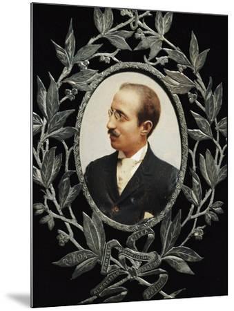 Portrait of Francesco Cilea--Mounted Giclee Print