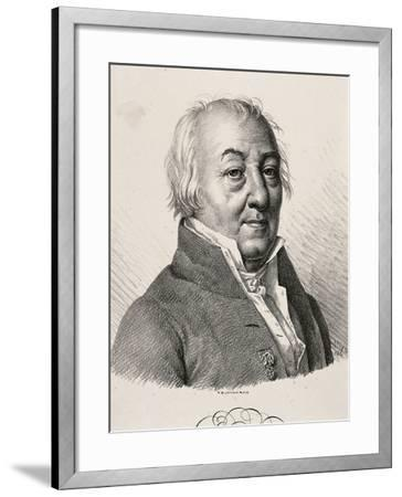 Portrait of Claude Louis Berthollet--Framed Giclee Print