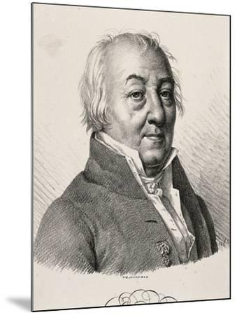 Portrait of Claude Louis Berthollet--Mounted Giclee Print