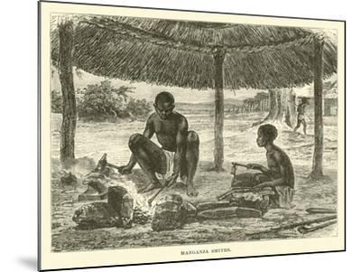 Manganja Smiths--Mounted Giclee Print