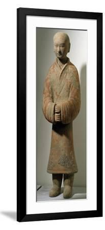 Man Standing, Shanxi Region--Framed Giclee Print