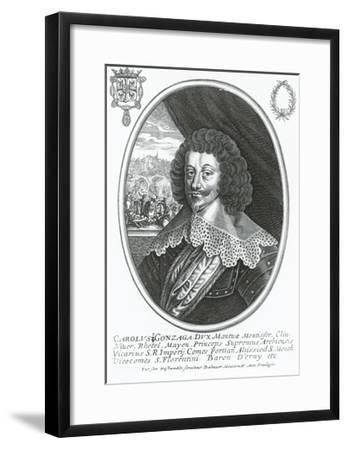 Portrait of Charles I of Gonzaga-Nevers--Framed Giclee Print