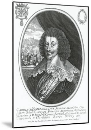 Portrait of Charles I of Gonzaga-Nevers--Mounted Giclee Print