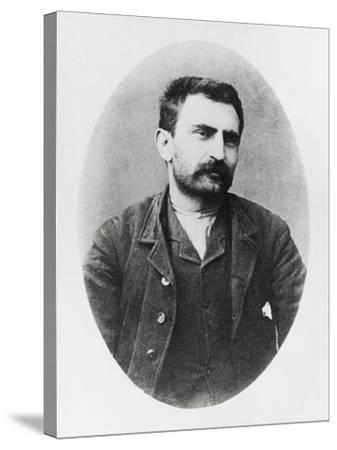 Portrait of Errico Malatesta--Stretched Canvas Print