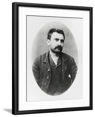 Portrait of Errico Malatesta--Framed Giclee Print