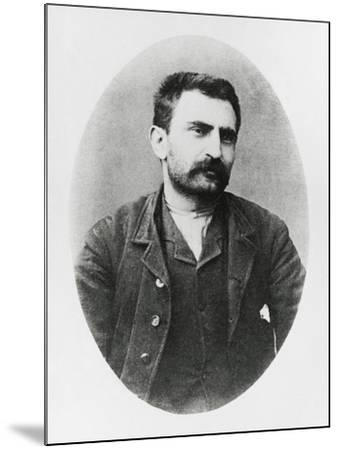 Portrait of Errico Malatesta--Mounted Giclee Print