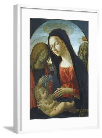 Madonna with Child-Neroccio De' Landi-Framed Giclee Print