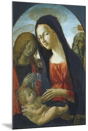 Madonna with Child-Neroccio De' Landi-Mounted Giclee Print