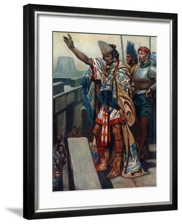 """""""Return to Your Homes. Lay Down Your Arms""""-James Henry Robinson-Framed Giclee Print"""