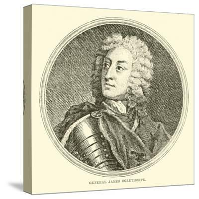 General James Oglethorpe--Stretched Canvas Print