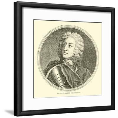 General James Oglethorpe--Framed Giclee Print