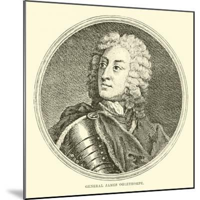 General James Oglethorpe--Mounted Giclee Print