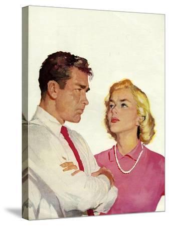 Magazine Illustration, 1950s--Stretched Canvas Print