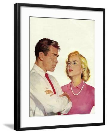 Magazine Illustration, 1950s--Framed Giclee Print