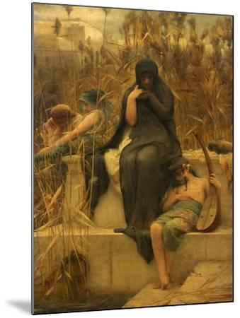 By the Waters of Babylon-Arthur Hacker-Mounted Giclee Print