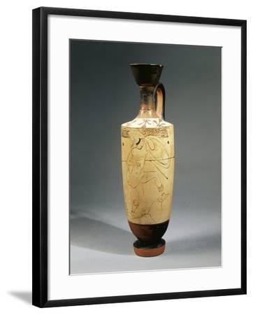 Italy, Sicily, White-Ground Lekythos--Framed Giclee Print