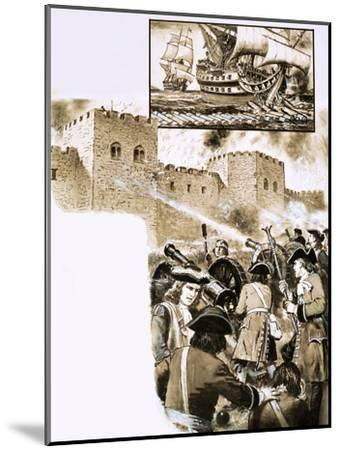 The Siege of Derry--Mounted Giclee Print
