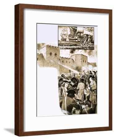 The Siege of Derry--Framed Giclee Print